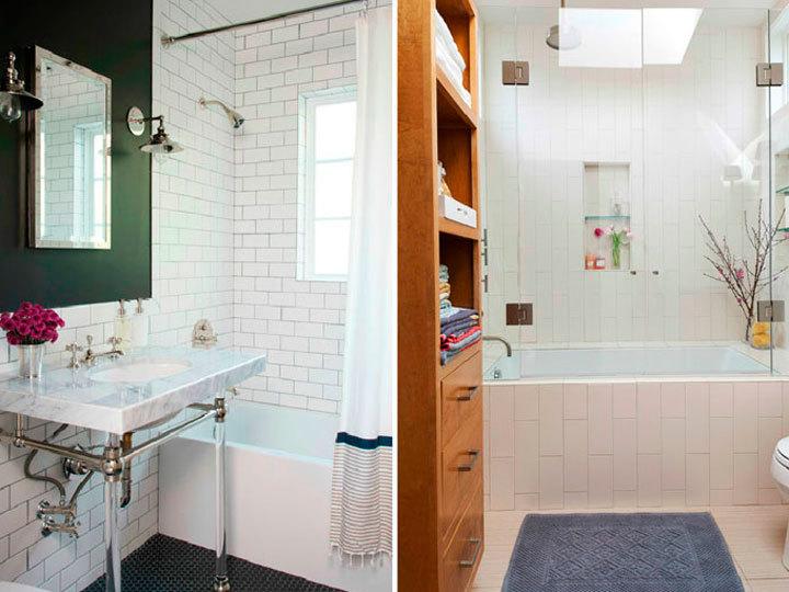 Revestimento de azulejo em banheiros -> Revestimento De Banheiro Com Banheira